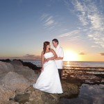 Secret Beach Wedding Photo