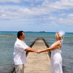 Waikiki Wedding Photo