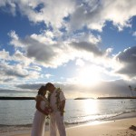 Magic Island Wedding Photo